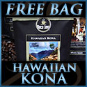 Receive 4 Bags of Fresh Roasted Gourmet Coffee Plus a bag of Hawaiian Kona for only $19.95 + SH!
