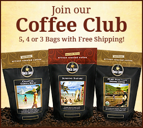 Join our coffee club