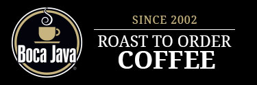 Boca Java - Roasted to Order Coffee